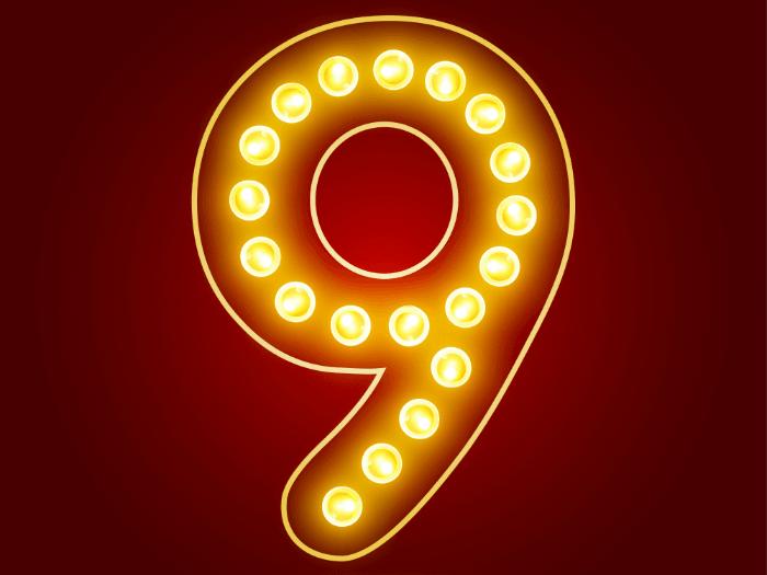 12-1 number 9